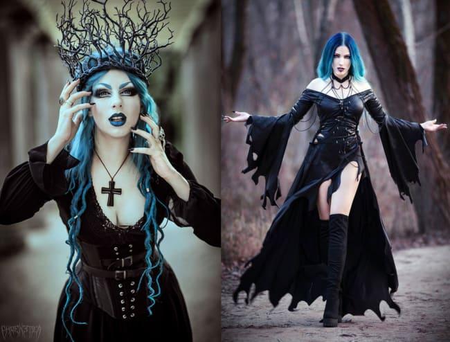 Fantasias incríveis de bruxa para Halloween