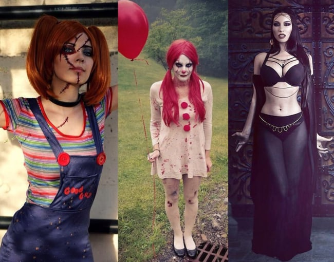 Ideias de fantasias femininas para dia das bruxas