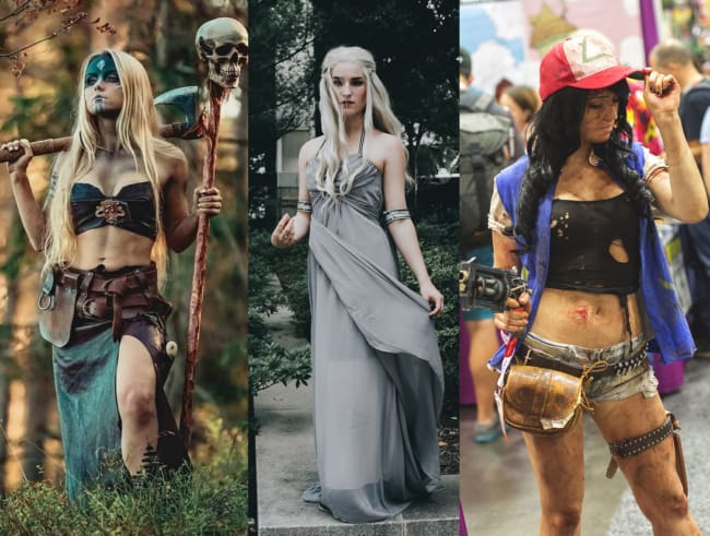 Ideias diferentes para fantasias femininas