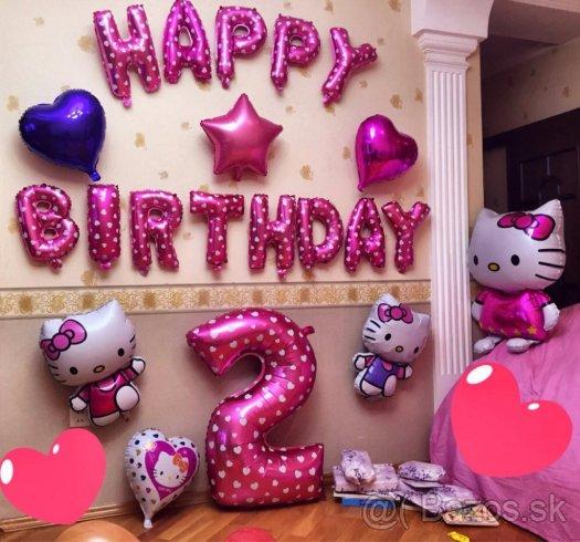 balões pink