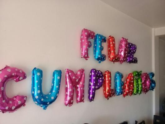 balões cores