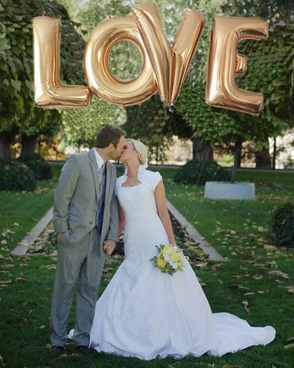 ideia para foto de casamento