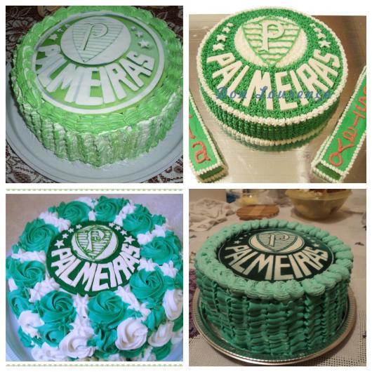 60 modelos lindos de bolo do Palmeiras para você homenagear seu time do coração em um dos momentos mais importantes de sua vida!