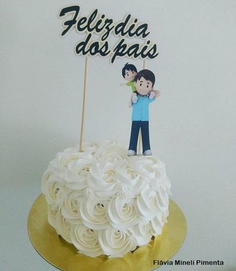 mini bolo simples