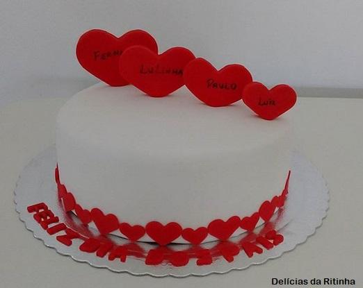 bolo pasta americana branco