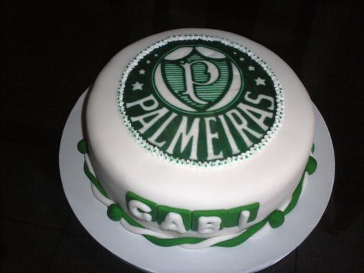 Quando o branco é a cor principal do bolo o resultado é ainda mais surpreendente