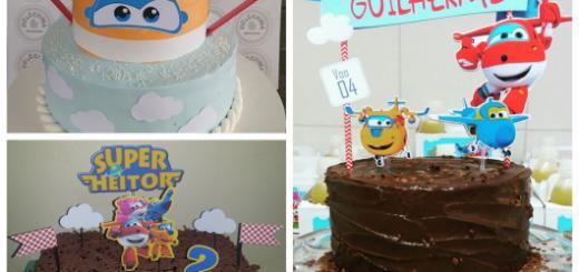 Conheça diversas formas de decorar um bolo Super Wings!
