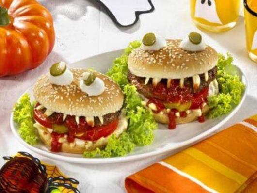 Comidas de Halloween: lanches monstros