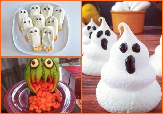 Comidas de Halloween inspirações