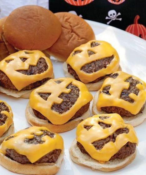 Comidas de Halloween: abóbora de queijo