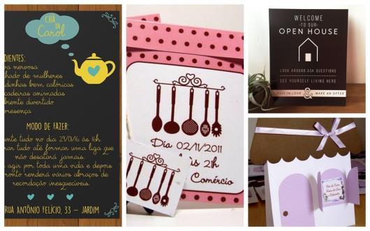 Convite Cha De Casa Nova 60 Inspiracoes Modelos Para Imprimir