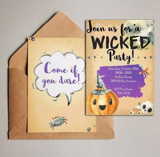 convite infantil
