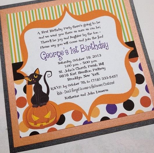convite infantil colorido
