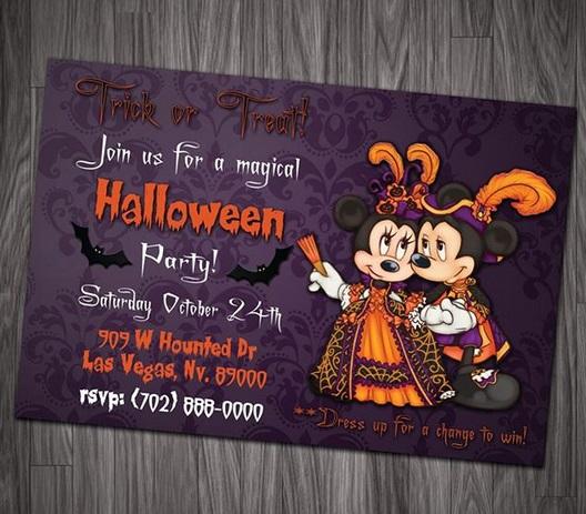 Convite Halloween – 72 Inspirações Incríveis & Modelos para