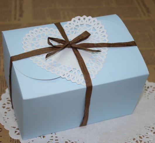decoração caixa de presente