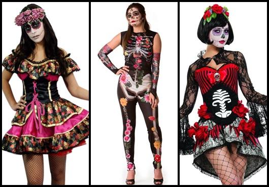 Fantasia de Halloween feminina inspirações