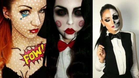 Festa de Halloween fantasia feminina jogos mortais