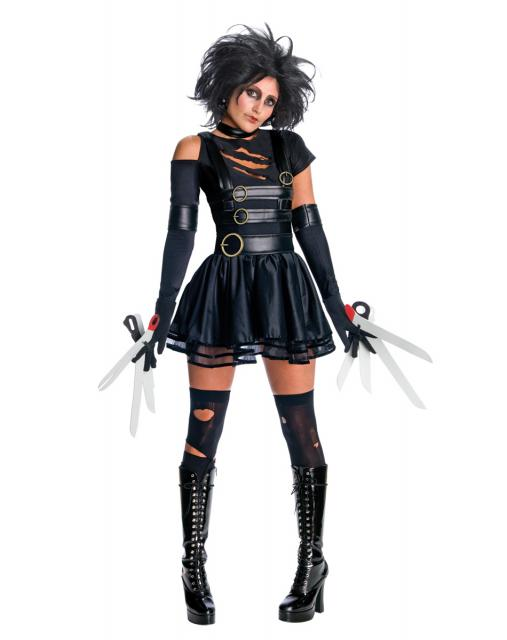 Festa de Halloween fantasia feminina Edward mãos de tesoura