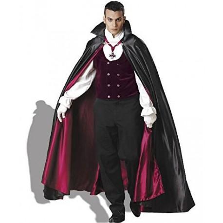 Festa de Halloween fantasia masculina vampiro