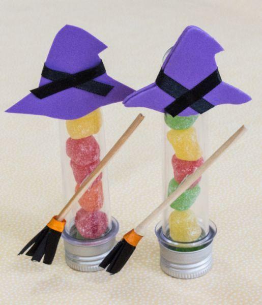 Festa de Halloween lembrancinha tubete personalizado