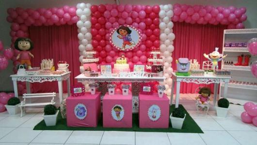 Festa de 1 ano tema Dora Aventureira