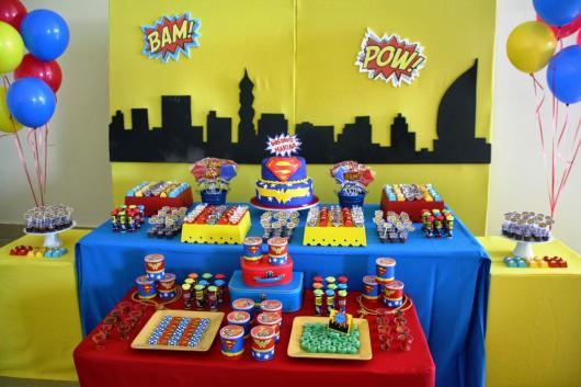 Festa Do Super Homem 60 Ideias Lindas De Decora 231 227 O Para