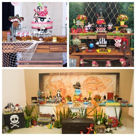 Vários estilos de festa pirata que vão encantar você!