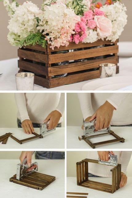 lembrancinhas DIY para casamento rústico