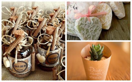 temperos sabonetes e plantinhas para lembrancinhas de casamento rústico