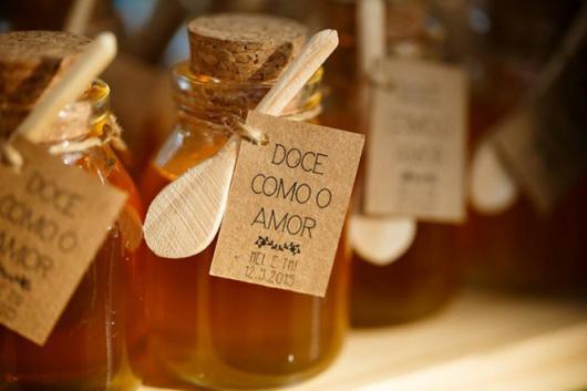 mel pode ser uma alternativa para casamento rústico