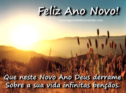 Mensagens De Ano Novo Evangélicas 40 Modelos Abençoados
