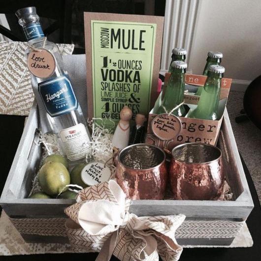 Kit caipirinha e bebidas para casal festeiro