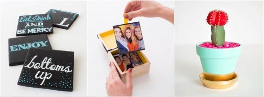 Presente Unissex criativo caixinha com fotos