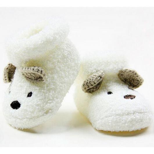 Presente unissex para bebê sapatinhos de ursinho