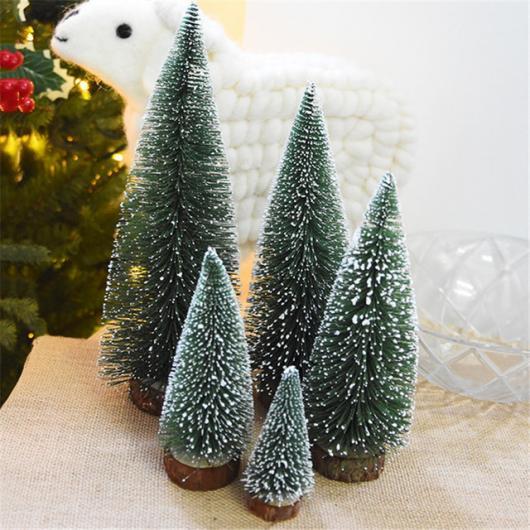 Presente unissex para Natal mini árvore de Natal