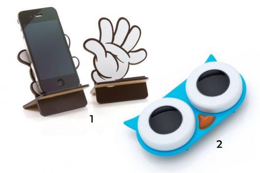 Presente Unissex criativo porta celular