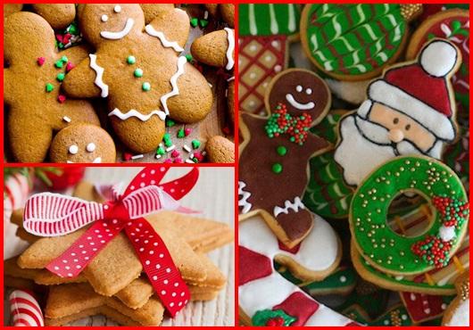 Receitas de Natal biscoito
