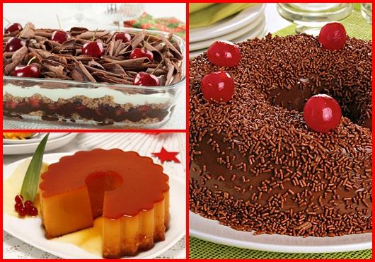 Receitas de Natal sobremesas