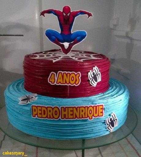 Os bolos redondos são os mais tradicionais