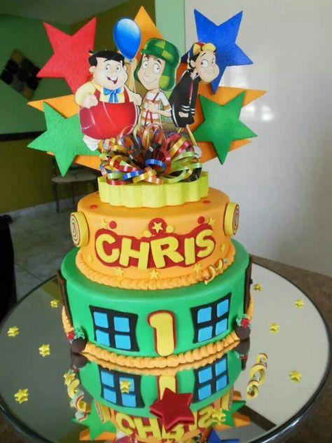 O topo é muito importante em bolos de dois ou mais andares