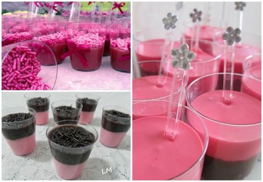 ideias para brigadeiro rosa