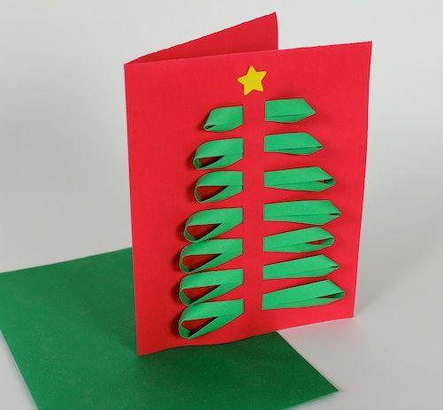 cartão decorado papel