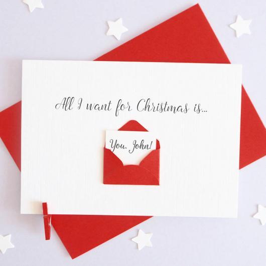cartão natalino namorado