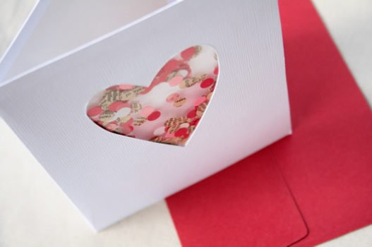 cartão criativo namorado