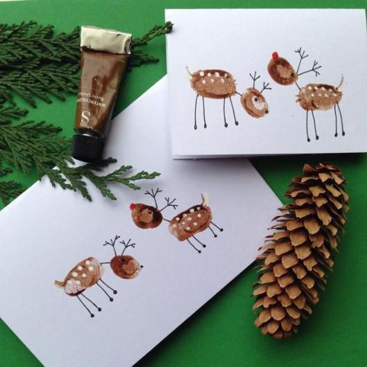 cartão decorado para crianças