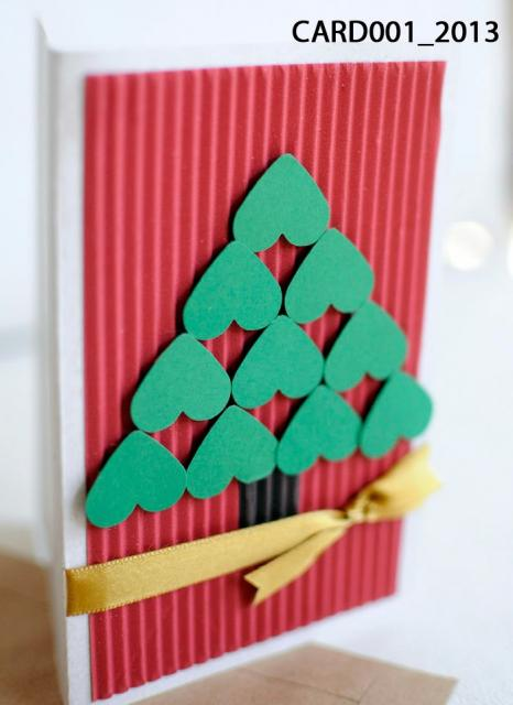 cartão romântico natalino