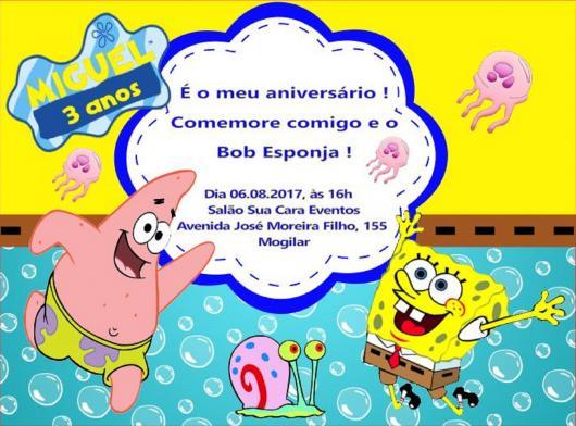 Festa Bob Esponja 70 Ideias Super Fofas Com Dicas De Decoracao