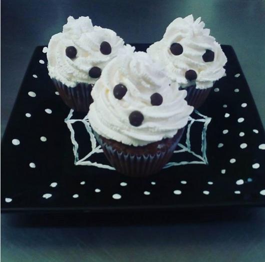 cupcake de fantasma
