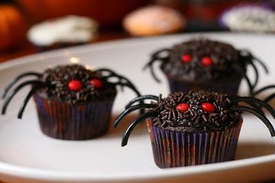 cupcake aranha