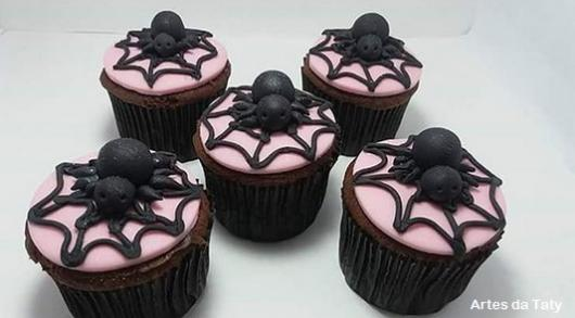 ideia para decorar cupcakes